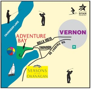 Adventure Bay Map Okanagan Real Estate