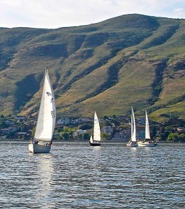 Catch the wind sailing on Okanagan Lake