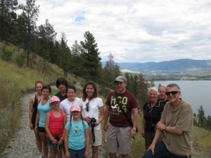 Hiking in the Okanagan at Adventure Bay