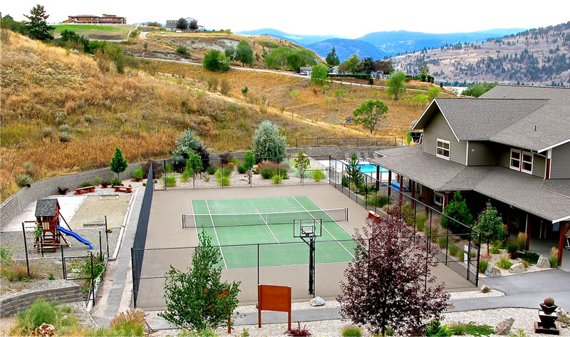 Pickle Ball in Vernon at Seasons Club